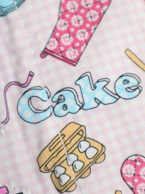 "10"" Light Flow cloth pad | Cake Bake Cotton | Lilac Polar Fleece | Luna Landings | Sub"