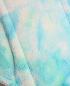 "14"" Overnight Extra Heavy Flow cloth pad | Seafoam Plush | Grey Wind Pro Fleece | Luna Landings | Double Flare"