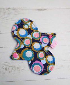 "6"" Liner cloth pad | Hex Cotton Jersey | Blue Wind Pro Fleece | Luna Landings | Slim Sub"